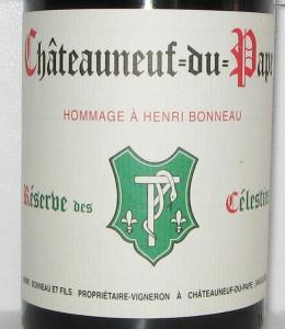 """Domaine Henri Bonneau - Châteauneuf-du-Pape """"Réserve des Célestines"""" 2015 (rött)"""