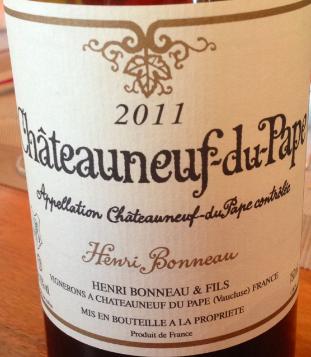 """Domaine Henri Bonneau - Châteauneuf-du-Pape """"Henri Bonneau"""" 2013 (rött)"""