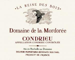 """Domaine de la Mordorée - La Reine des Bois, Condrieu """"Christophe Delorme"""" 2018 (vitt)"""