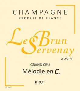 """Le Brun-Servenay - Cuvée """"Mélodie en C"""" Blanc de blancs Grand Cru Brut"""