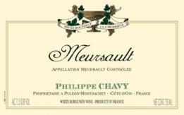 Domaine Philippe Chavy - Meursault 2018 (vitt)