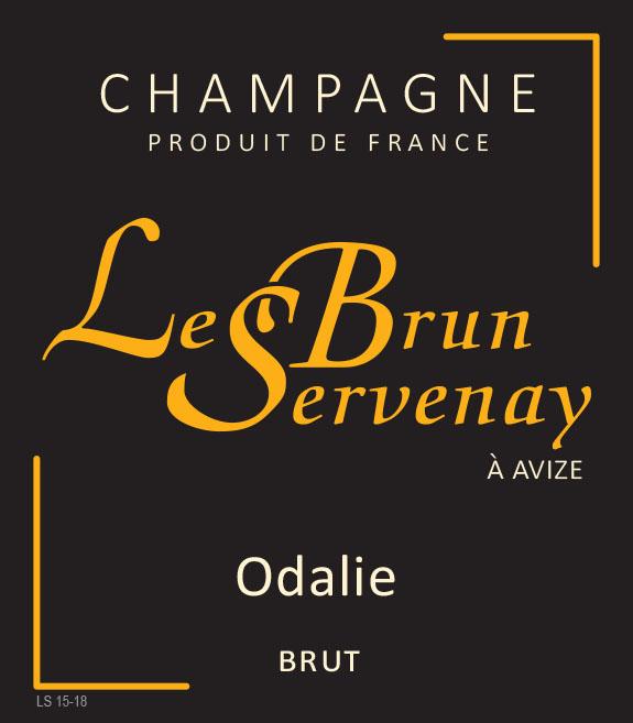 "Le Brun-Servenay - Cuvée ""Odalie"" Brut HALV-FLASKA"