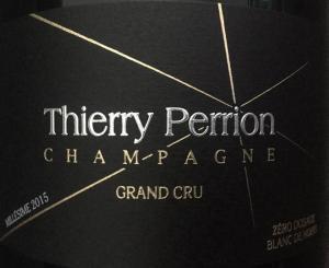 Thierry Perrion - Cuvée Vintage 2016 Blanc de Noir Grand Cru Brut Nature
