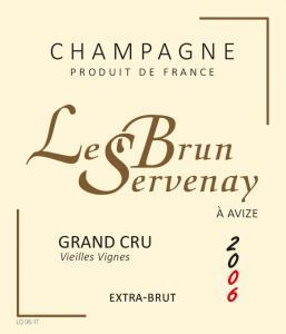 Le Brun-Servenay - Cuvée Chardonnay Vieilles Vignes Grand Cru Extra Brut 2008