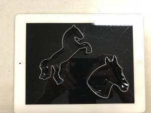 Pepparkaksformar Häst