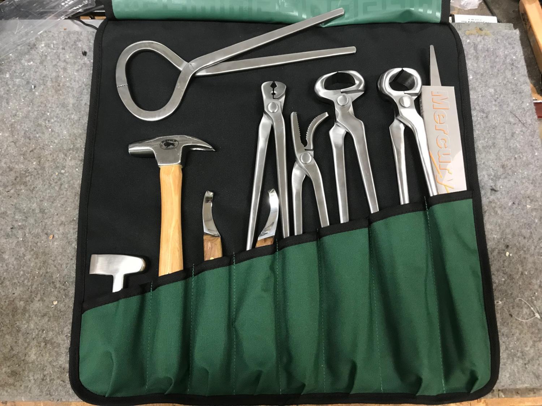 verktyg hovslagare hovslageri tappsko tappskokit v1 v.1 v2 v