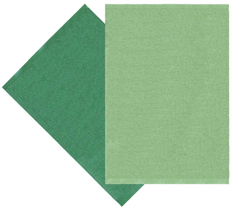 Flip rug, green/dark green, 70x100 cm