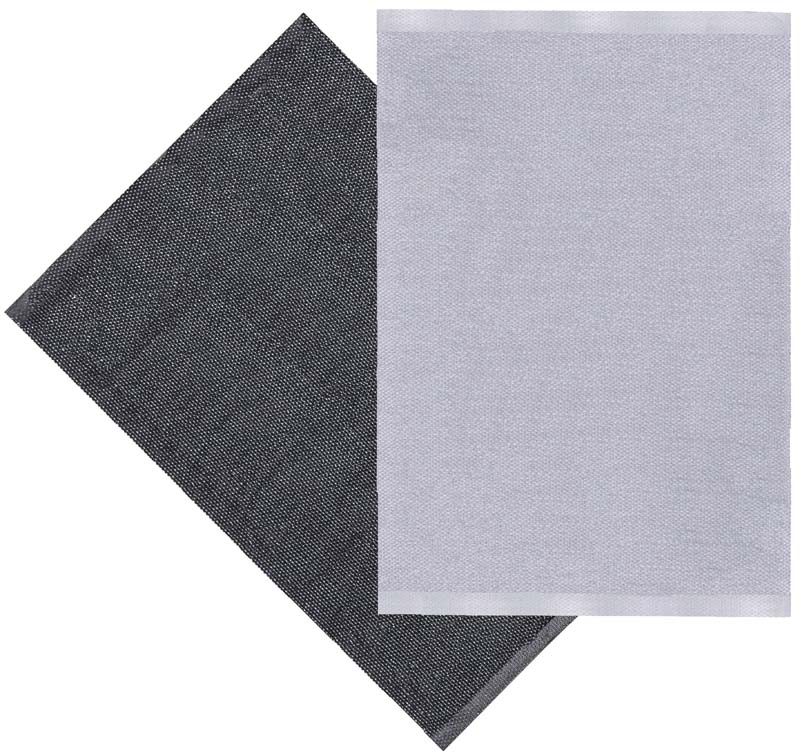 Flip matta grå/svart 70x100 cm