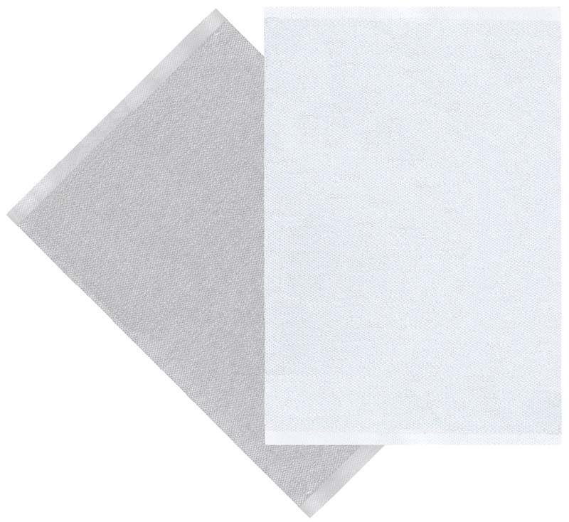 Flip rug, grey/white 70x100 cm