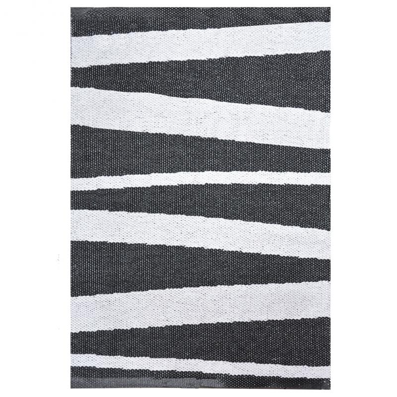 Åre carpet black / white 70x100 cm