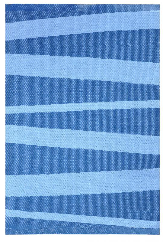 Åre carpet blue / light blue 70x100