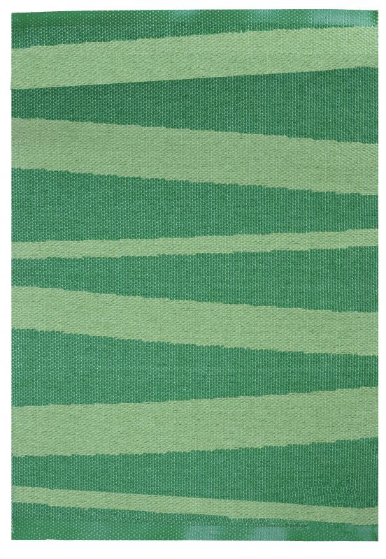 Åre carpet green / dark green 70x100 cm