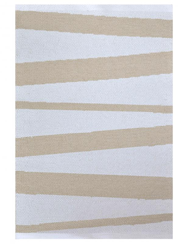 Åre carpet beige / white 70 x 100 cm