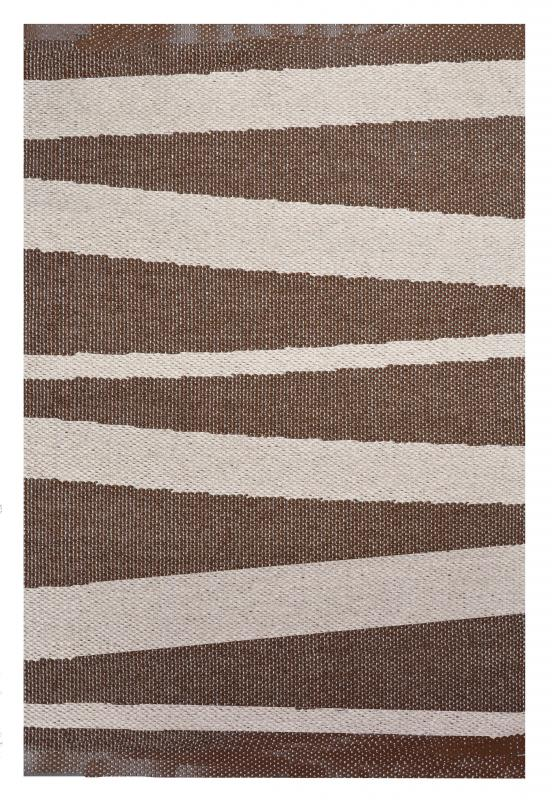 Åre carpet brown / beige 70 x 100 cm