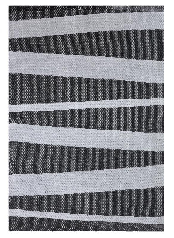 Åre carpet black / grey 70x100 cm