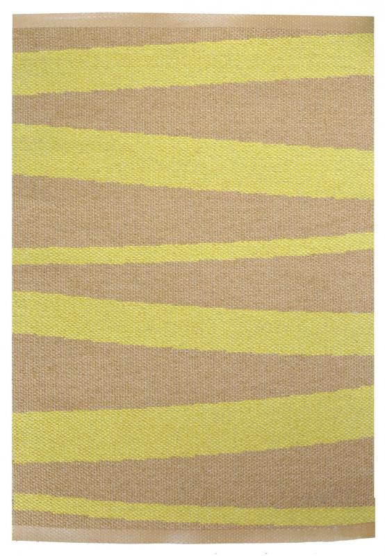 Åre carpet yellow / ocher 70x100 cm