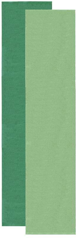 Flip rug, green/dark green, 70x300 cm