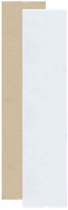 Flip matta beige/vit 70x300 cm
