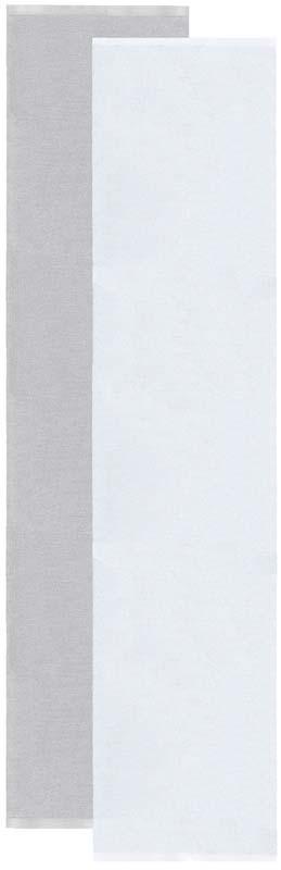 Flip matta grå/vit 70x300 cm