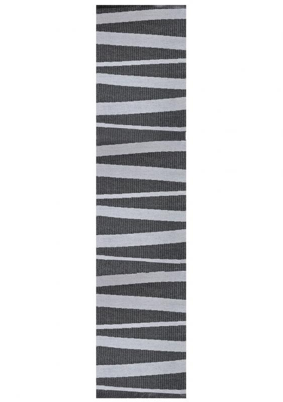 Åre carpet black / grey 70x300 cm