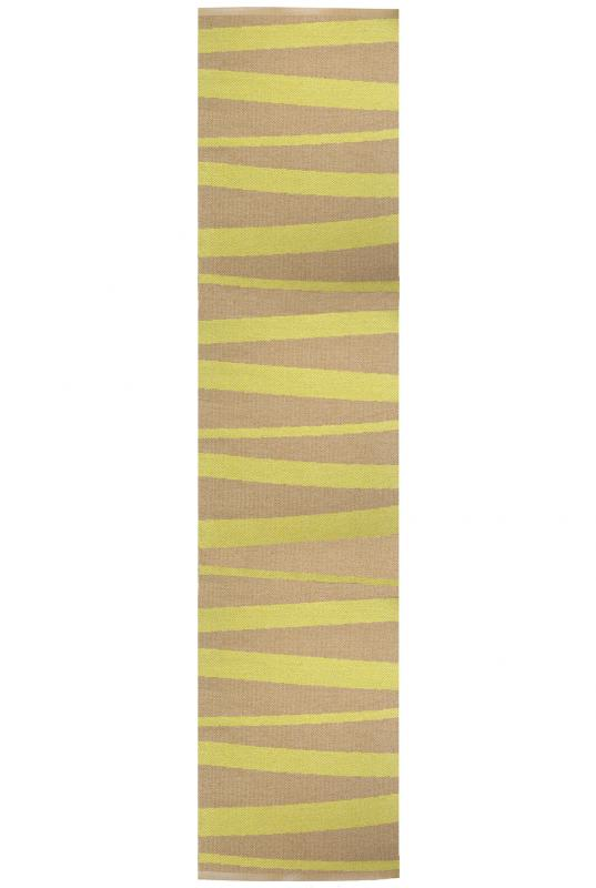 Åre carpet yellow / ocher 70x300 cm