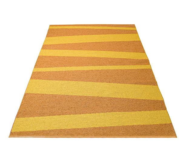 Åre matta gul/ockra 150x220 cm