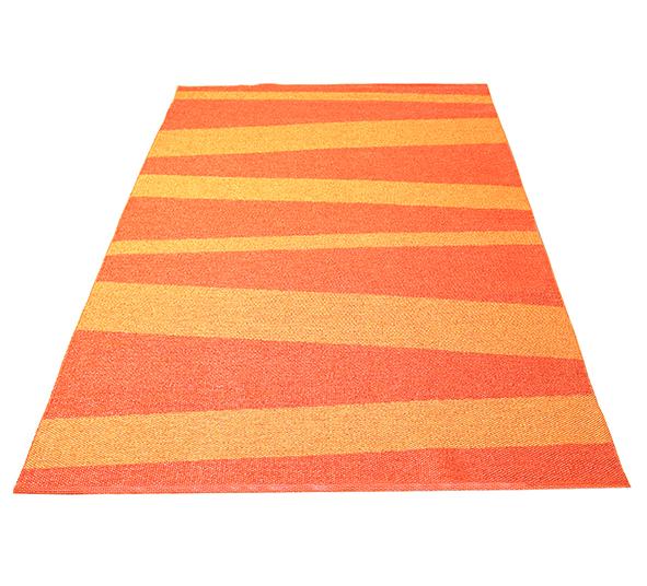 Åre matta orange/mörkorange 150x220 cm