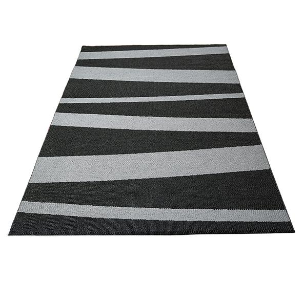 Åre matta grå/svart 150x220 cm