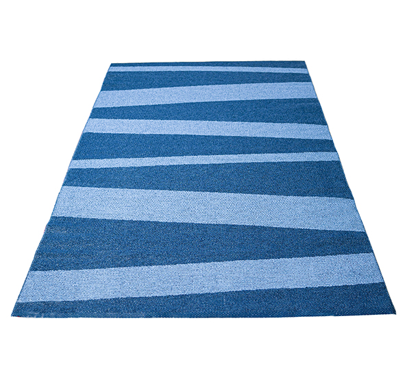 Åre rug blue / light blue150x200 cm