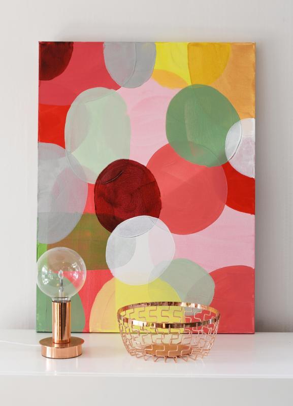 Spring Pastell 60x80 cm