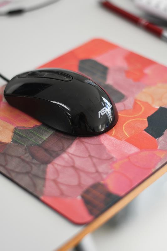 Mouse pad Lipstick