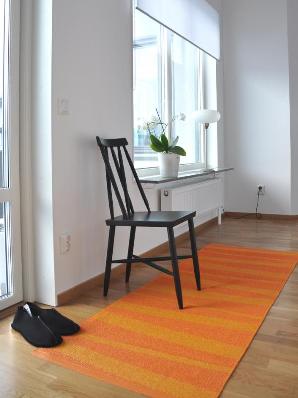 Åre carpet orange / redorange 70x200 cm