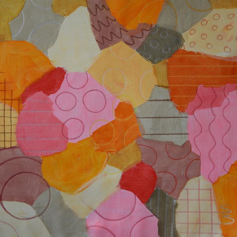 Pink dream, 60 x 60 cm