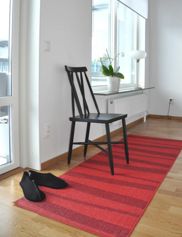 Åre carpet red / winered 70x200 cm