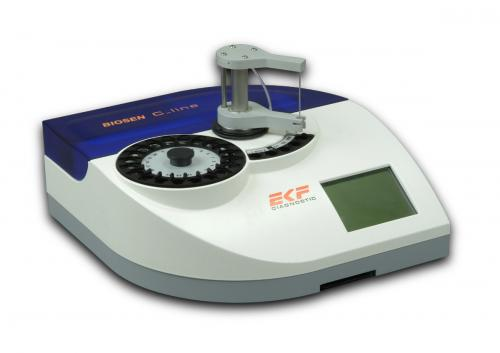 BIOSEN C_line Clinic 2 measuring channels barcode