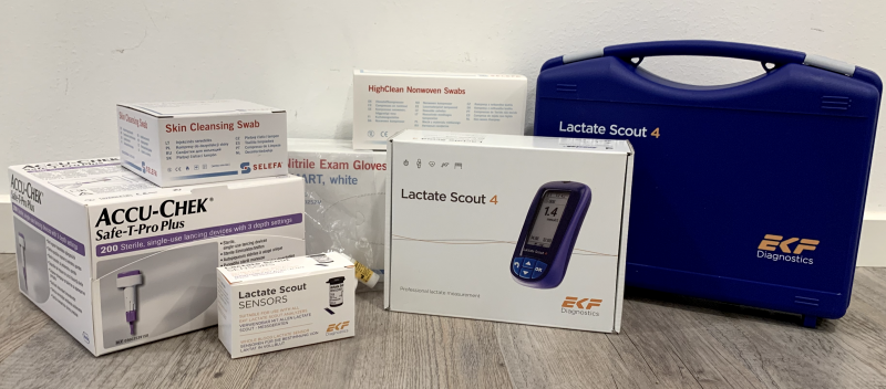 Lactate Scout 4 Complete kit