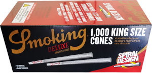 Smoking Deluxe KS Cones 1 000 st
