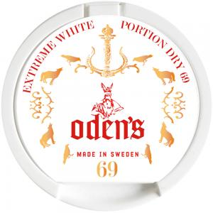 Odens 69 Extreme White Dry Portion