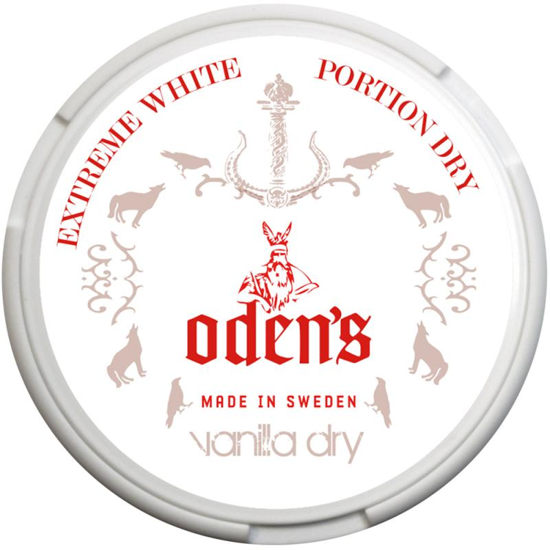 Odens Vanilla Extreme White Dry Portion