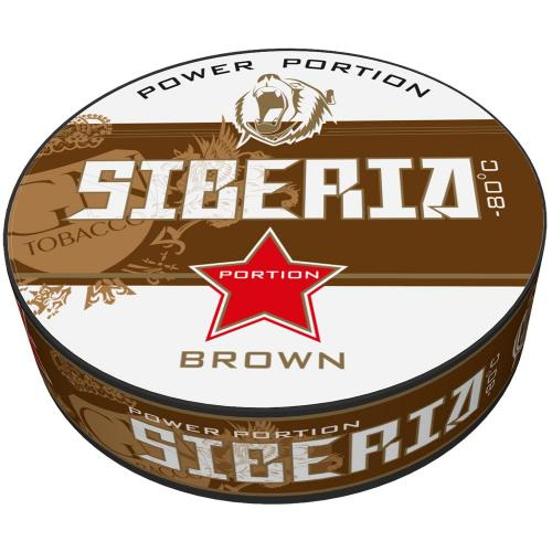 Siberia -80 Brown Portion