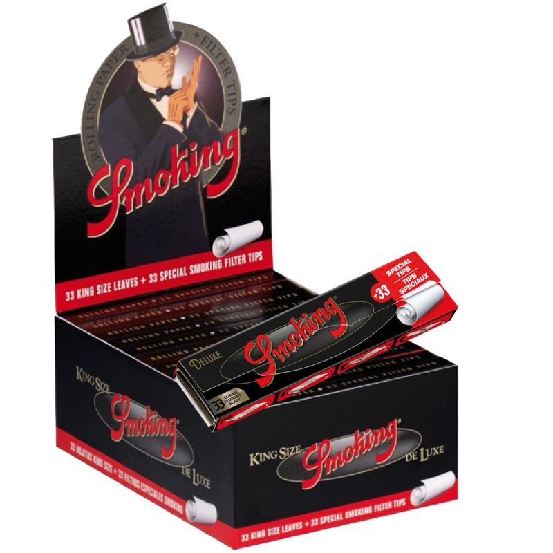 Smoking Deluxe King Size + Filter