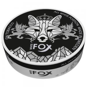White Fox black