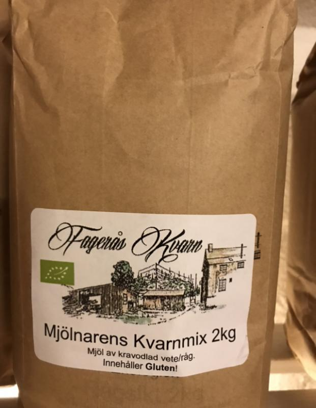 Ekologiskt siktat Mjölnarens Kvarnmix 2 kg - Fagerås kvarn