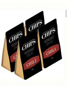 Värmlandschips 4 pack Chili 50 g/st