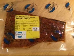 Vildmarkskryddad Regnbågsfilé ca 0,260 gr
