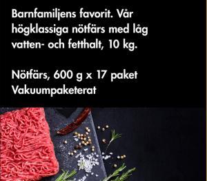 NÖTFÄRSLÅDA - Kils Slakteri