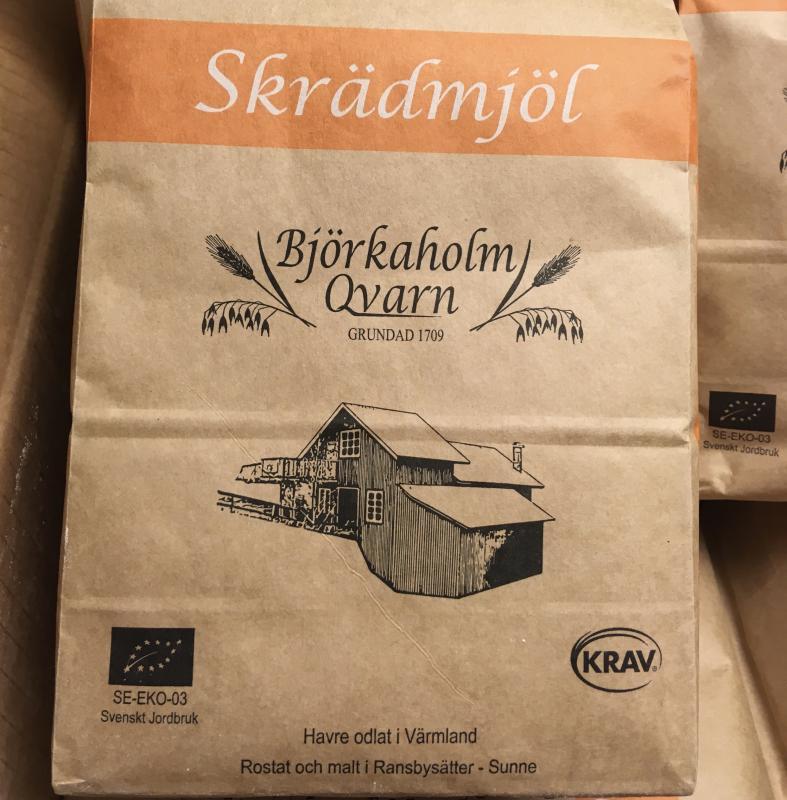 KRAV Ekologiskt Skrädmjöl 1 kg