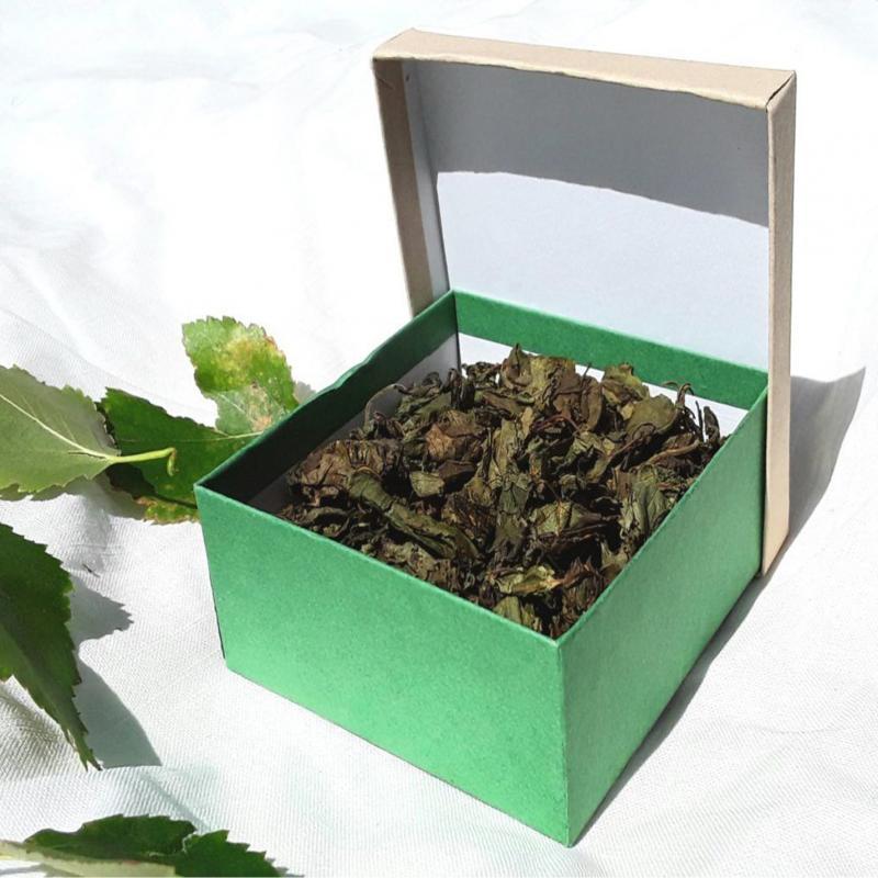 Björkoolongté - Fermenterade rostade Björkblad