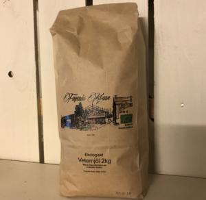 Ekologiskt siktat vetemjöl 2 kg - Fagerås kvarn