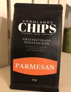Värmlandschips Parmesan 50 g